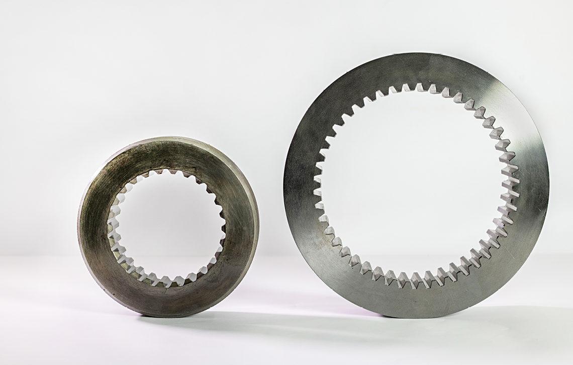 D'arco Lazzarini INGRANAGGI cilindrici dentatura interna 2